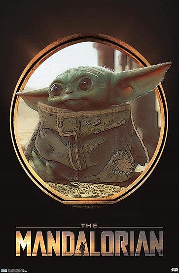 Star Wars The Mandalorian The Child [Baby Yoda] Premium Poster