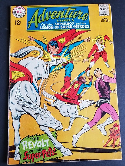 Adventure Comics (1938 1st Series) #364 FN
