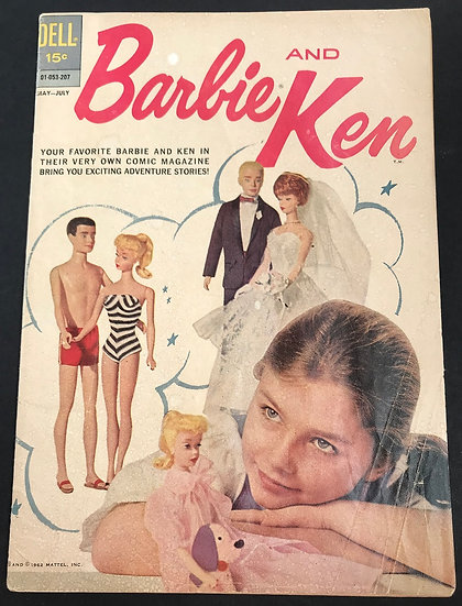 Barbie and Ken (1962) #1 VG