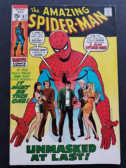 Amazing Spider-Man 87 VG+