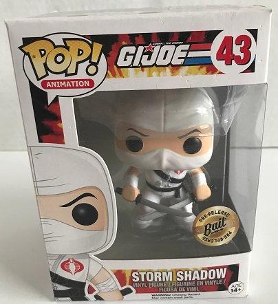 GI Joe Storm Shadow 43 Bait Pre Release