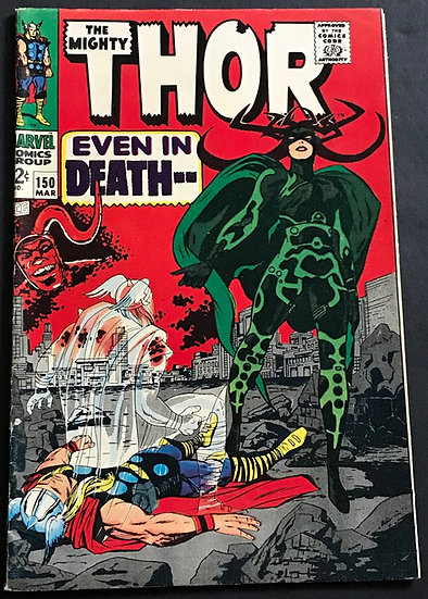 Thor (Journey Into Mystery) #150 FN
