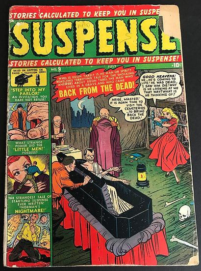 Suspense (1950) #9 FR/GD [Interior Tapes]