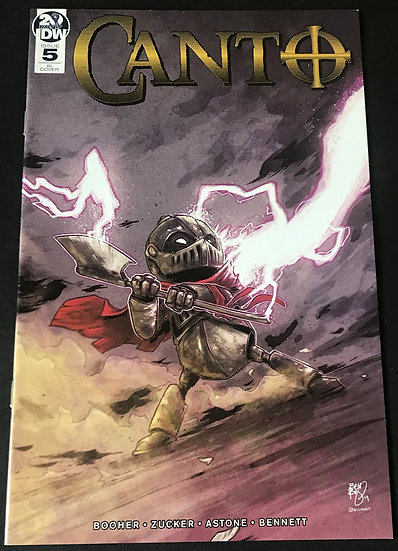 Canto #5  (IDW) Limited 1 for 10 Retailer Incentive Variant Cover