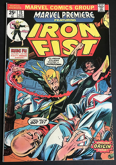 Marvel Premiere 15 Iron Fist NM-