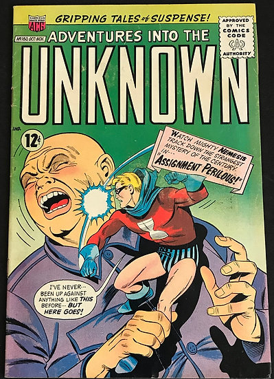 Adventures into the Unknown (1948 ACG) #160 VF-