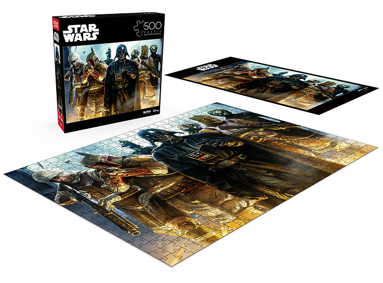"""Buffalo Games Star Wars """"He's All Yours, Bounty Hunter"""" 500 Pcs Jigsaw Puzzle"""