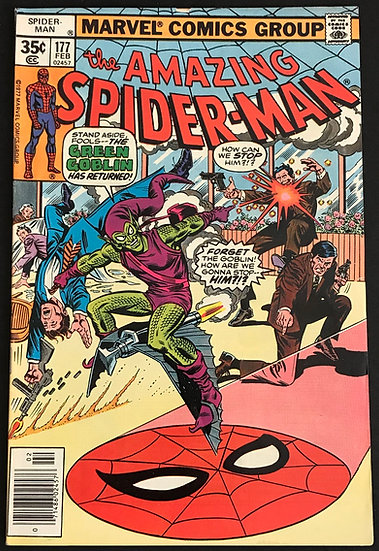 Amazing Spider-Man 177[Green Goblin App] VF+