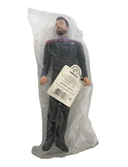 1994 Star Trek Generations William T Riker Vinyl Figure Doll