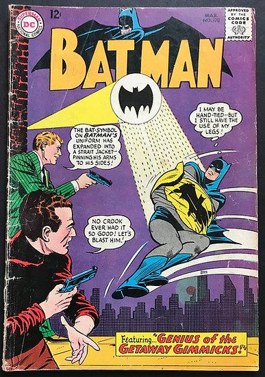 Batman #170 VG+ [Carmine Infantino Cover]