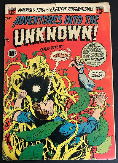 Adventures into the Unknown (1948 ACG) #48 GD-