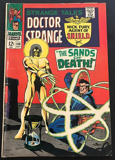 Strange Tales (1951-1976 1st Series) #158 VG