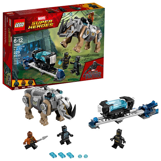 Lego Marvel Super Heroes Rhino Face Off By The Mine 76099