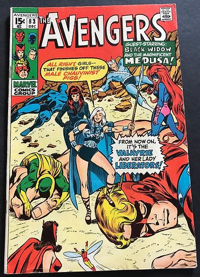 Avengers 83 VG/FN [Water Stain]