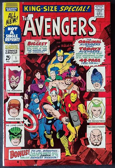 Avengers (Marvel ) Annual #1 VF- [New & Old Avengers Team-up]