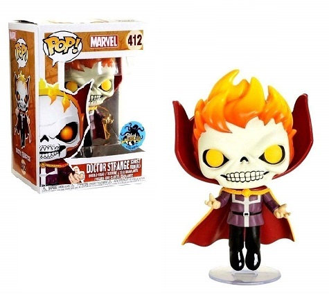 Funko Pop Marvel Doctor Strange (Ghost Rider ) 412 LACC Exclusive