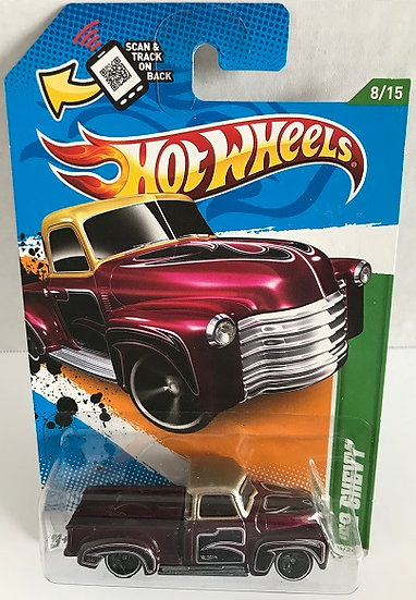 Hot Wheels Treasure Hunts 12 '52 Chevy - 58 / 247 New Sealed