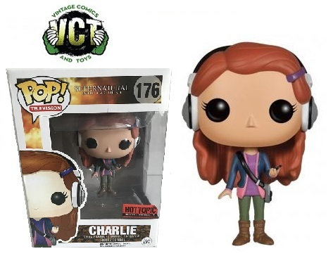 Funko Pop Super Natural Join The Hunt Charlie 176 Hot Topic Exclusive