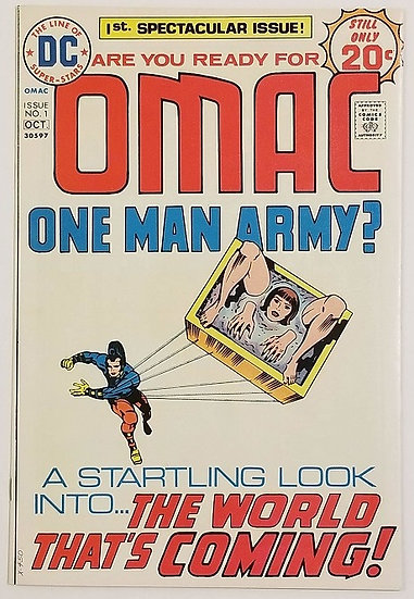 Omac (1974 1st Series) #1 VF+ [1st Appearance of OMAC]
