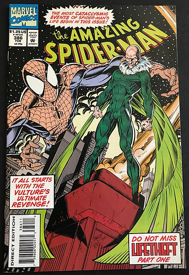 Amazing Spider-Man (1963 1st Series) #386