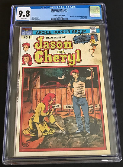 Blossoms:666 #1 CGC 9.8 White Pages