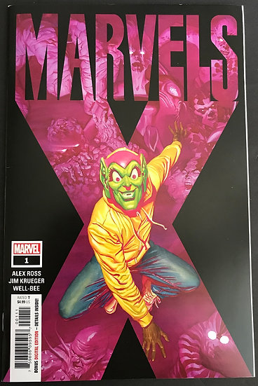 Marvels X (2020) #1A VF