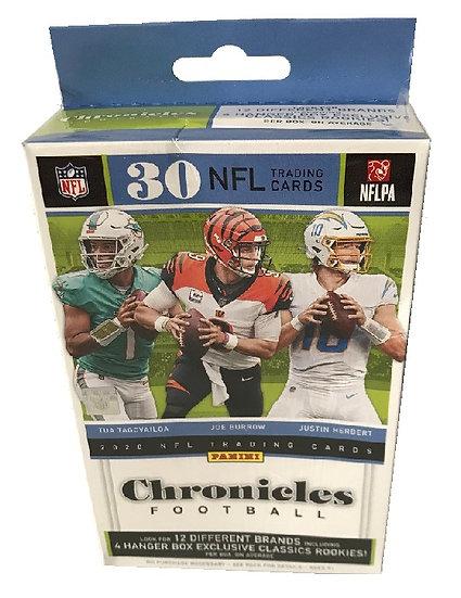 2020 Chronicles NFL Trading Cards Hanger Box