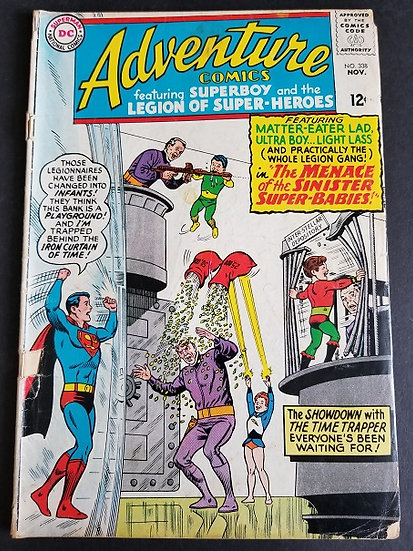 Adventure Comics (1938 1st Series) #338 GD