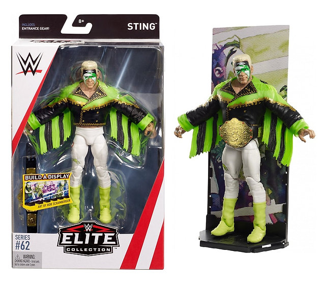 WWE Elite Collection Series 62 Sting Wrestling Figure