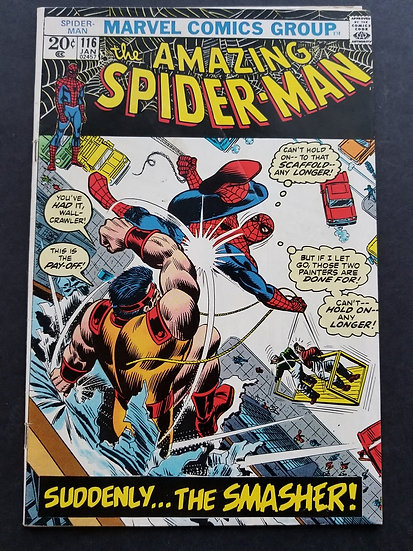 Amazing Spider-Man 116 VG