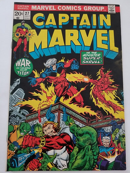 Captain Marvel 27 VF 1st Appearance of Death