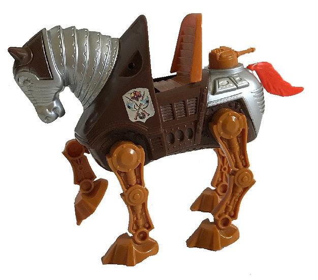 1983 Vintage MOTU Stridor Heroic Armored War Horse By Mattel