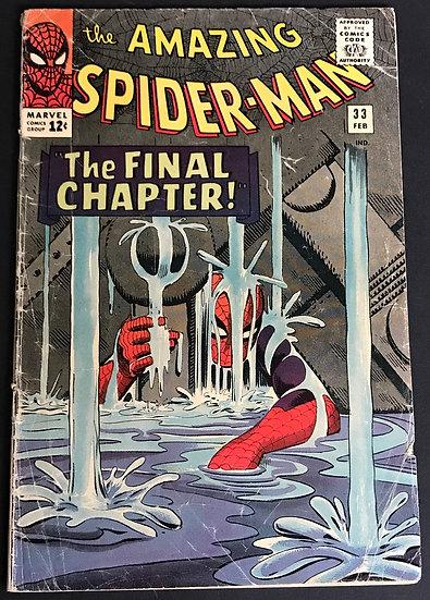 Amazing Spider-Man 33 GD/VG
