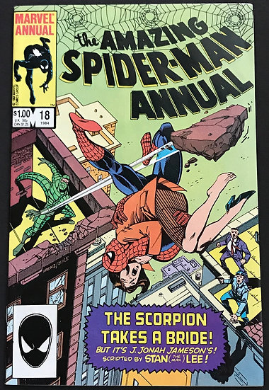 Amazing Spider-Man Annual 18 VF-