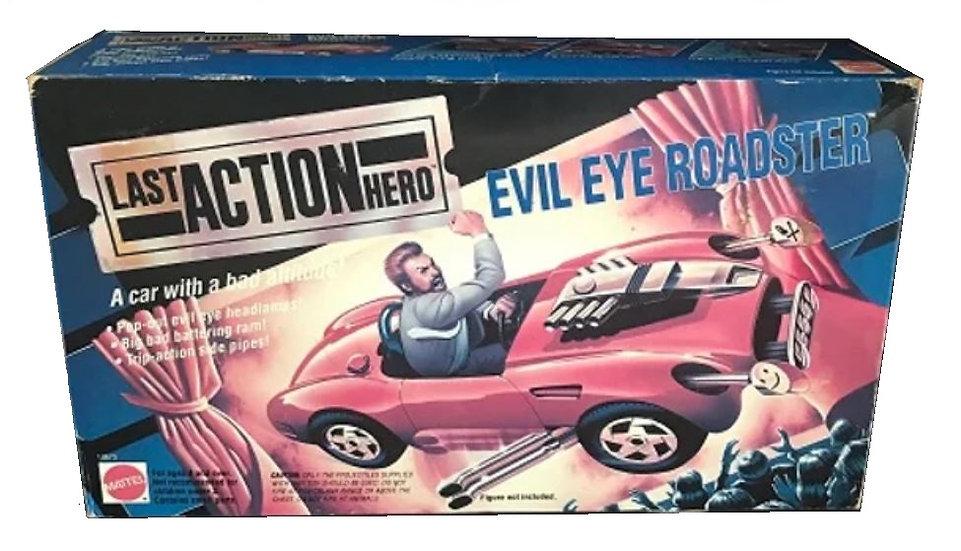 1993 Mattel Last Action Hero Evil Eye Roadster Stunt Car - New Sealed