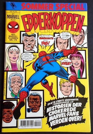 Edderkoppen Sommer Special Spider-Man Summer Special #1990 VF-