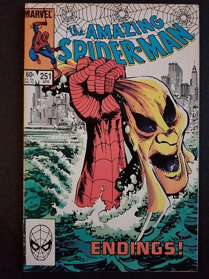 Amazing Spider-Man 251 NM-