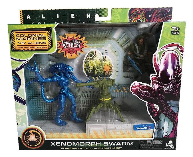 Alien Xenomorph Swarm Series Xenomorph Warrior Battle Set Exclusive