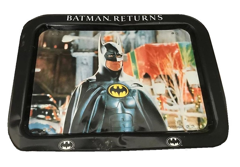 1992 Vintage Dc Comics Batman Returns Tray