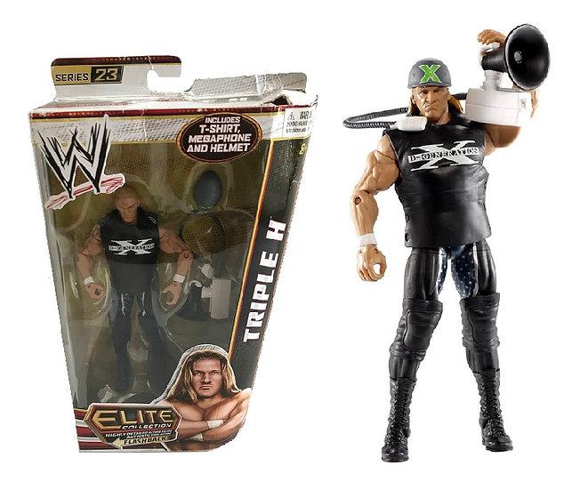 WWE Elite Collection Series 23 Triple-H Wrestling Figure [Damage Box]