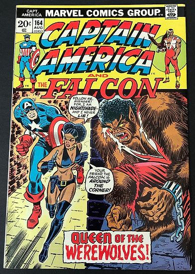 Captain America (1968 1st Series) #164 VF-