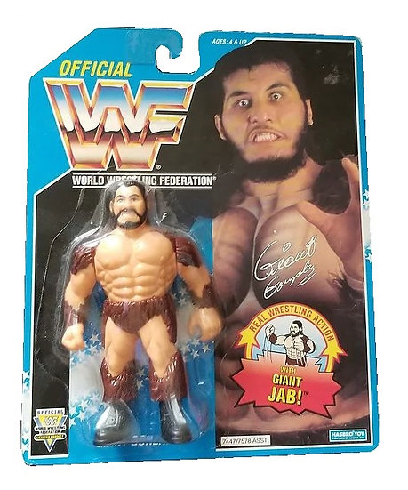 1993 Hasbro WWF Giant Gonzalez is MOC.