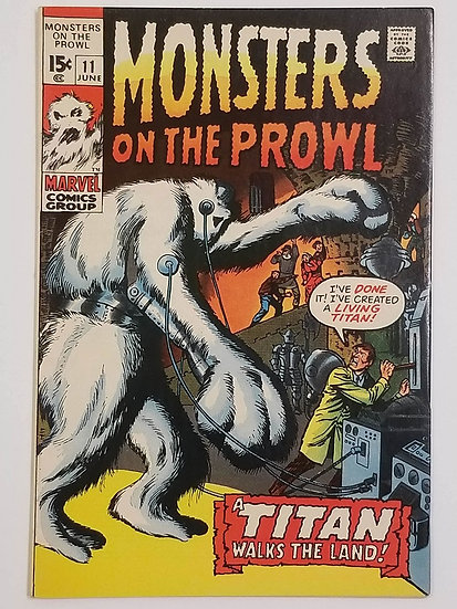 Monsters on the Prowl (1971) #11 NM-