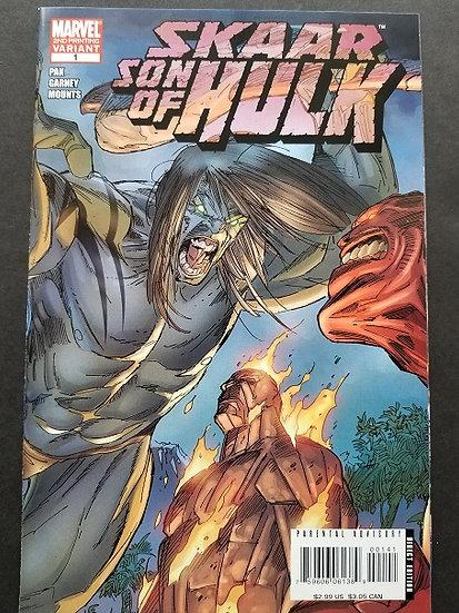 Skaar Son of Hulk (2008) #1D 2nd Printing  VF/NM