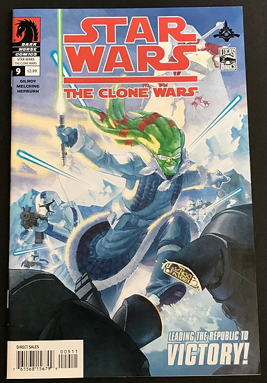 Star Wars Clone Wars (2008 Dark Horse) #9 VF/NM