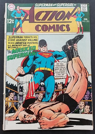 Action Comics #372 GD/VG