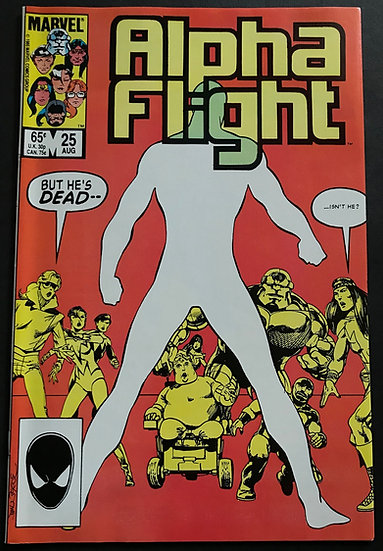 Alpha Flight #25 (Marvel) VF/NM