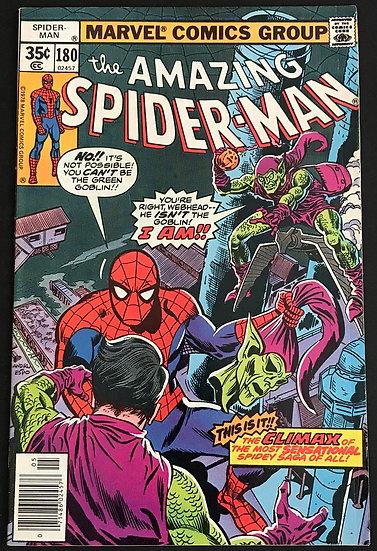 Amazing Spider-Man (Marvel) #180 VF-