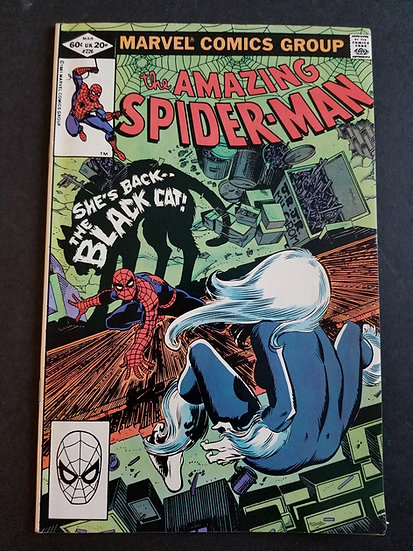 Amazing Spider-Man (Marvel) #226 VF+[Black Cat appearance.]