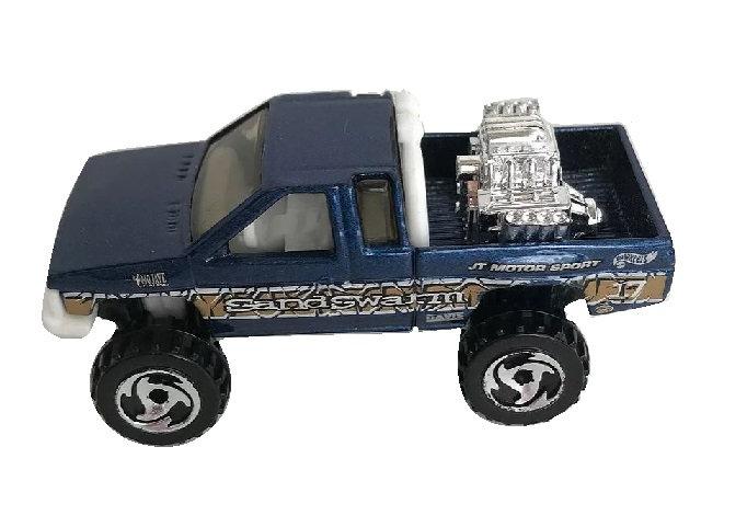 1987 Hot Wheels Blue Toyota Pick-up Truck